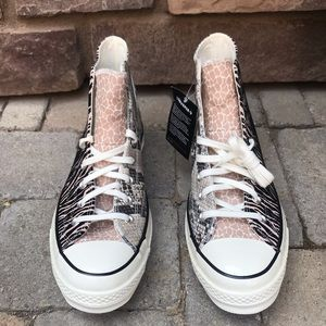 Converse Shoes - Converse Chuck 70 High Top Animal Zebra Leopard